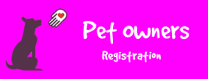 pet owners reistration